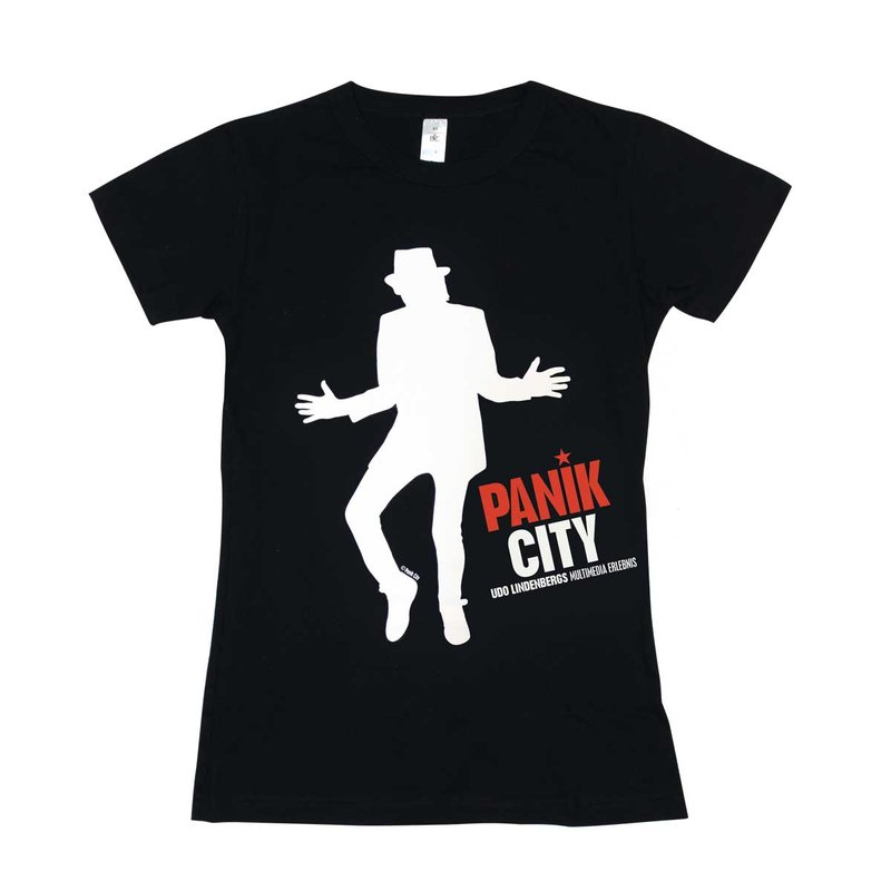 Panik City - Udo Lindenberg T-Shirt Ladies schwarz